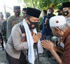 Silaturahmi Kapolda Jatim ke Ponpes Salafiyyah AL-Misbar Mojokerto