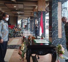 KSAD Jenderal Andika Teken MoU Pembiayaan Rumah Prajurit TNI AD
