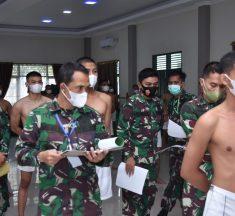 Danrem Brigjen TNI Djashar Djamil Pimpin Sidang Parade Catar Akmil TA.2021
