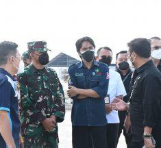 Danrem 081/DSJ Dampingi Mentan Kunjungi Pabrik Porang Madiun